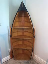 nautical rowing boat bookcase shelf christmas gift idea in