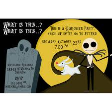 Nightmare Before Christmas Birthday Party Decorations - nightmare before christmas birthday invitations marialonghi com