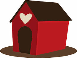 House Silhouette by Silhouette Paw Dog House Clipart Cliparts And Others Art Inspiration