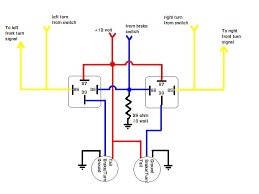 from your wiring diagram you should splice a wire from the brake