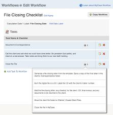 sample file closing checklist