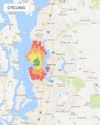 commute map visualizing commute times dev curious