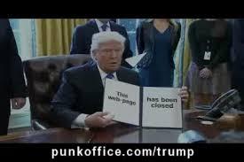 Meme Generator Gif - punk office trump meme generator