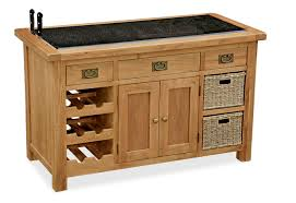 oak kitchen island units coastal interiors living room range bergerac oak kitchen island