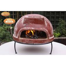 table top pizza oven buy gardeco table top mexican pizza oven with metal stand