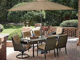 Outdoor Patio Dining by Ideal Illustration Mesmerize Outdoor Half Umbrella With Pole