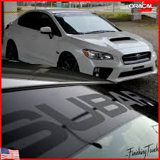 subaru crosstrek decals subaru decal windshield banner sticker plus window vinyl visor