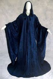 ritual robes and cloaks goddess reversible purple black celestial cloak cape robe pagan