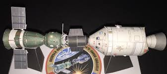 Resting Space Apollo Soyuz Test Project Diorama 1 100 Scale Axm Paper Space