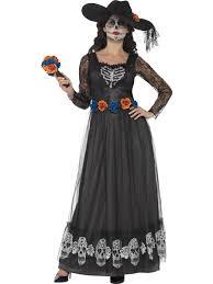 Dead Bride Costume Day Of The Dead Skeleton Bride Costume 44944 Fancy Dress