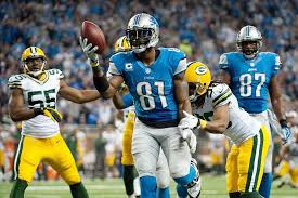 packers at lions calvin johnson shaken up during sam shield