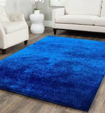 Royal Blue And White Rug Solid Blue Area Rug Roselawnlutheran