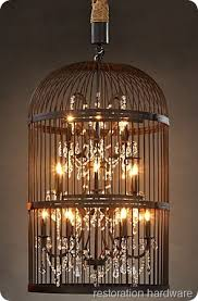 How To Make A Birdcage Chandelier Diy Birdcage Chandelier Home Interior Inspiration