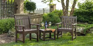 Recycled Plastic Patio Furniture American Made Outdoor Patio Furniture