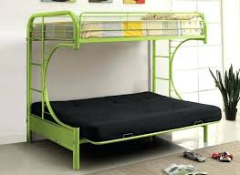 Wooden Bunk Beds With Mattresses Futon Bunk Bed Wood Bikepool Co