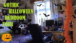 gothic halloween bedroom tour 2016 thehauntedbat youtube