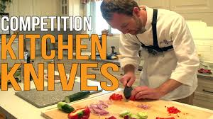 competition kitchen knives youtube