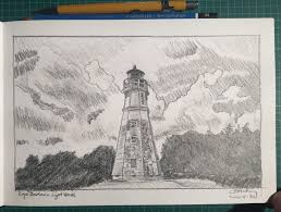 lighthouse at cape jourimain
