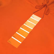 Peach Pantone Pantone Hooded Sweatshirt U2013 Fourtwofour On Fairfax