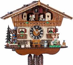 Chalet Style by Cuckoo Clock 1 Day Movement Chalet Style 29cm By Hönes 6265t