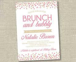 bridal brunch invitations 40 bridal shower invitation exles
