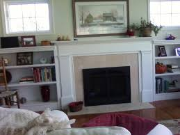 can i please see your fireplace with bookcases surrounding it