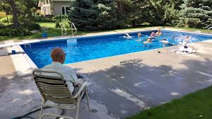 Swimming Pool Backyard by 94 Year Old Puts In Pool For Neighborhood Kids Kare11 Com
