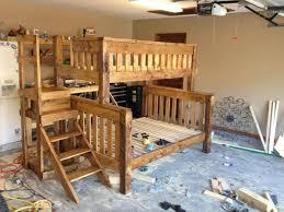 Bunk Bed Futon Combo Bedroom Full Over Queen Bunk Bed Twin Over Queen Bunk Bed
