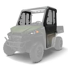 hinged window doors poly polaris ranger