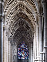 notre dame de reims cathedral the interior reims france