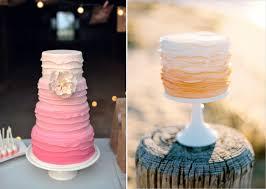 peach ombre wedding cake ombre wedding cakes polka dot bride