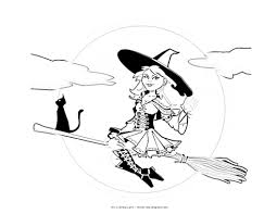 pictures of halloween witches to print u2013 fun for halloween