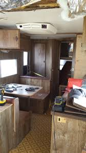 Rv Renovation Ideas by Husband And Wife Team Renovate 1979 Prowler Travel Trailer