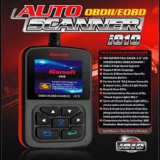 icarsoft i810 auto obdii eobd code scanner fault diagnostic