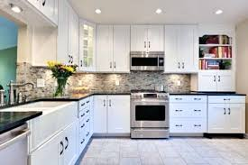 unique kitchen backsplash ideas kitchen backsplash with black granite countertops and white