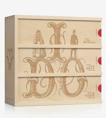 wine wedding gift custom anniversary wine box i do features customizable