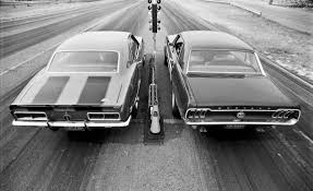 1967 camaro vs 1967 mustang the rivalry of the century mustang vs camaro ford addict