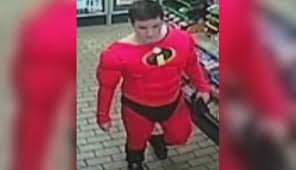 incredibles costume cab driver robbed punched by in incredibles