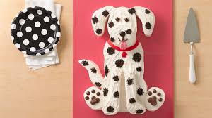dog cake dalmatian dog cake recipe bettycrocker