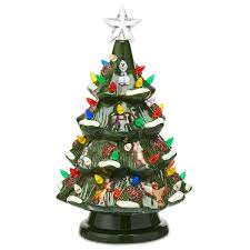 Christmas Tree Toppers Disney by Disney Retro Ceramic Light Up Tree Shopdisney
