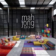 roche bobois paris honoring the iconic mah jong sofa coquivera