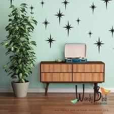 retro starbursts vinyl wall decals confetti stars nursery details retro starbursts wall decals