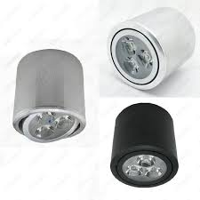 Ceiling Mount Led Fixture by Cylinder 3w Dimmable Not Led Ceiling Down Light Surface Mounted