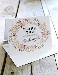 thank you bridesmaid cards best 25 bridesmaid thank you cards ideas on