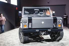 bollinger motors reveals the custom built b1 all electric off
