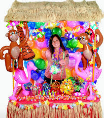jumpstart vbs recruiting with a luau ideas by