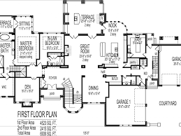2 story 5 bedroom house plans download 5 bedroom floor plans 2 story adhome