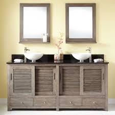 Double Vessel Sink Bathroom Vanities by Collection In Vessel Sink Double Vanity And Unique Vessel Sink