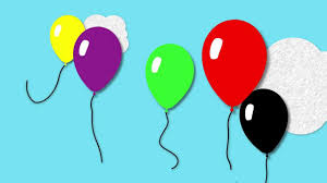balloon colours toddler fun learning learn colours with