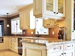 cuisine bouleau ivoire bois de bouleau blanc armoires de cuisine avec un grand